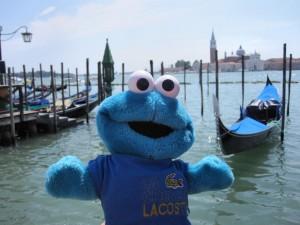 Triki on holidays in Venice