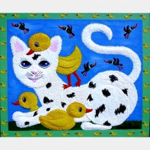 "Peking Cat   ""SOLD"""