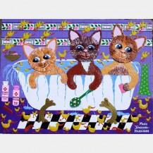 Rubba Dub Dub 3 Cats In The Tub