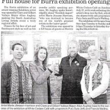 Burra Broadcaster Sala Opening 2008