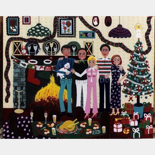 Elders Fine Art Gallery Family Christmas