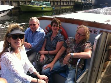 Exploring Copenhagen by boat