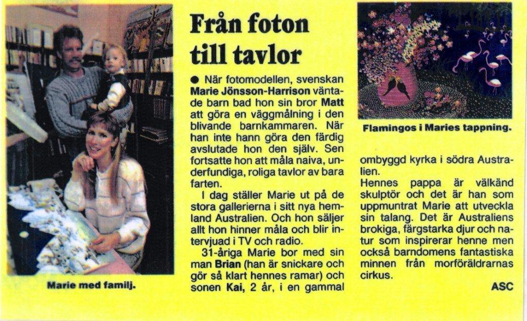 Swedish Magazine 1989