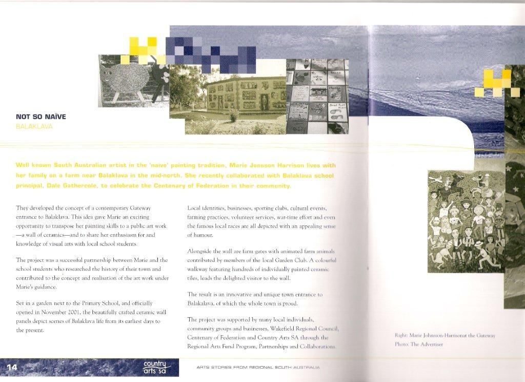 Country Arts SA Magazine 2002