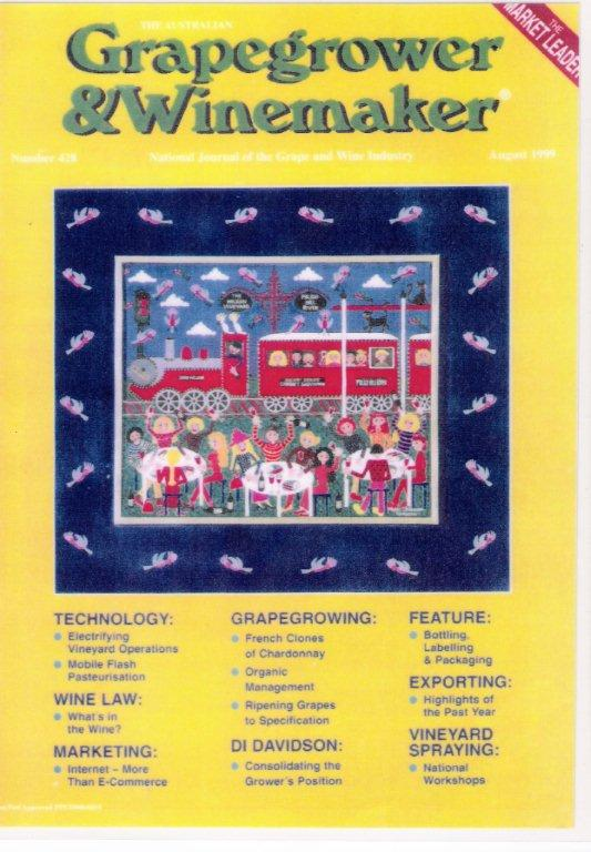 Grapegrowers & Winemakers Magazine Cover 1999