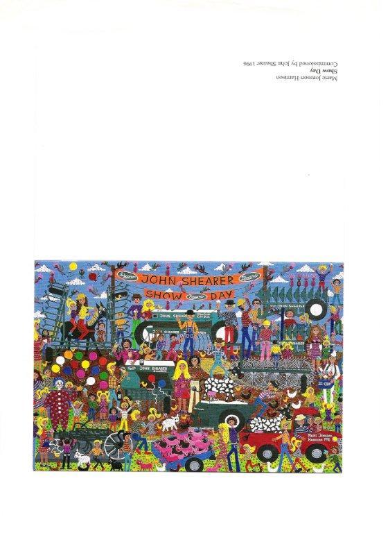 John Shearer Ltd Australia Greeting Card