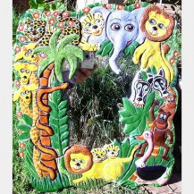 Jungle Fever – Mirror Wall Hanging