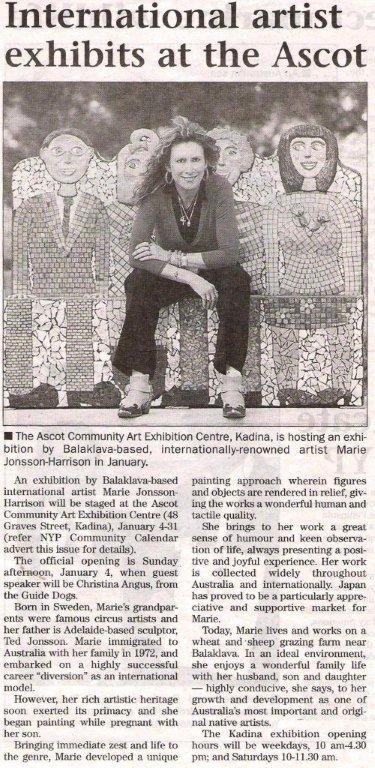 Kadina Exhibition 2009 York Peninsular Times