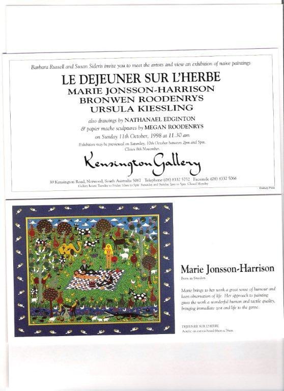 Kensington Invitation 1998