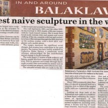 Northern Argus – Largest Naive Sculpture In The World 2009