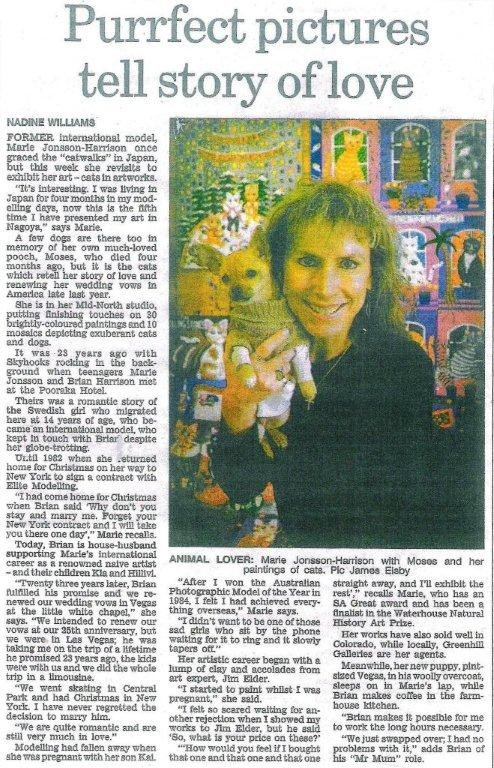 The Advertiser Story By Nadine Williams 2006