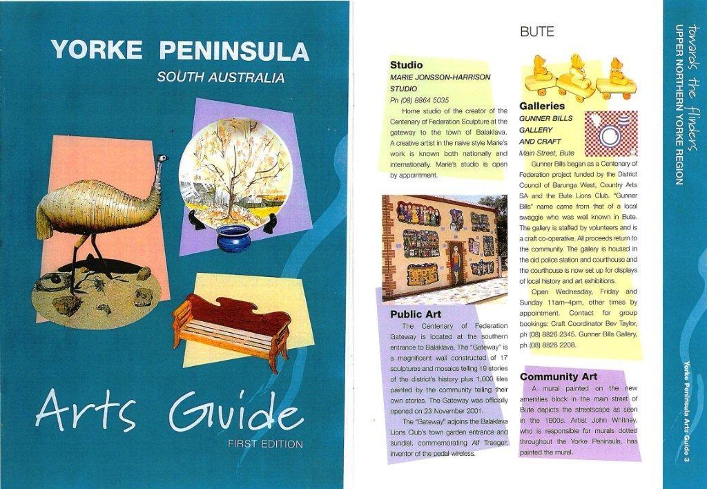 York Peninsular Arts Guide